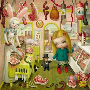 The Butcher Bunny, Mark Ryden