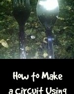 How to Make a Circuit Using a Spoon and a Fork