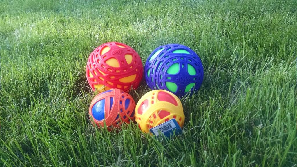EZ Grip Balls Survive Girl Scouts