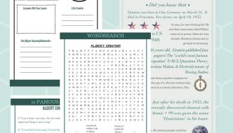 Einstein Free Printable pack