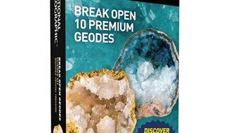 National Geographic Break Open 10 Geodes