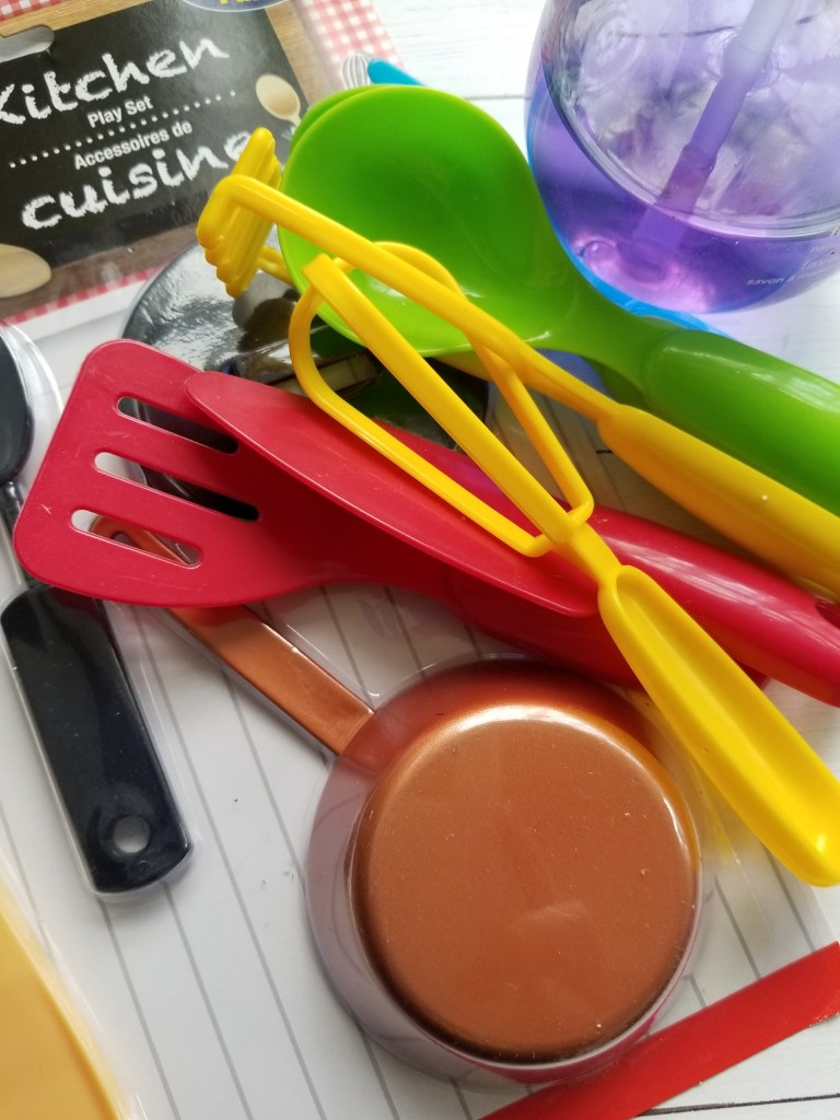 Montessori Inspired Dishwashing Sensory Station
