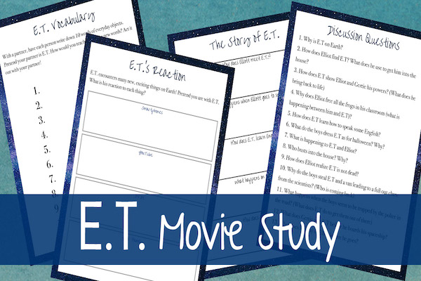 ET Movie study from Sarah Lyn Gay