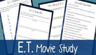 e.t. Movie study from Sarah Lyn Gay