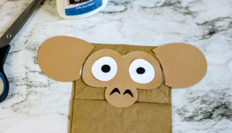 All About Monkeys For Kids and a Monkey Puppet Craft