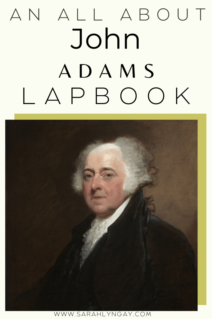 Our All About John Adams Lapbook