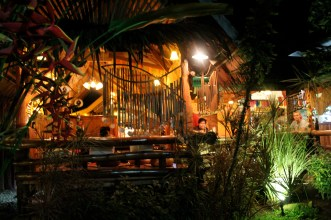 Lovely setting for a delicious meal. KaLui Restaurant, Puerto Princesa, Palawan, Philippines