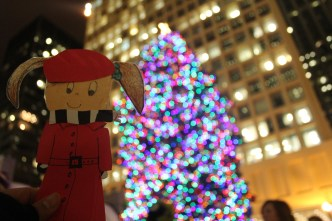 Flat Stanlina in Chicago, Christmas Tree, Daley Plaza