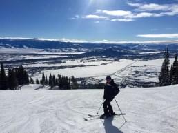 Sarah Skiing Jackson