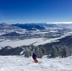 Skiing Jackson 3