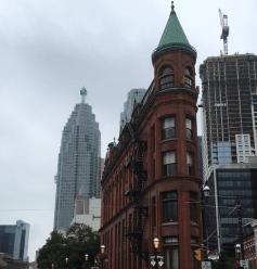 Flat Iron Building Toronto