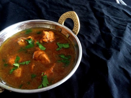 Chicken Curry or Kalya/Kulya