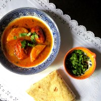 Anday Aalu ka Salan or Egg Curry