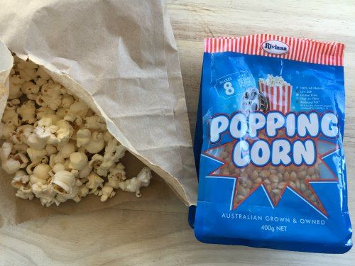 Perth Nutrionist Pop Corn Kids Snack On the Go