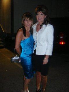 Sarah Palin and Shirley Ballas at DWTS
