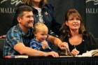 Sarah and Todd and Tripp at Bristols MOA book signing