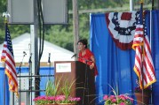 Sarah speaks at Michigan Tea Party event