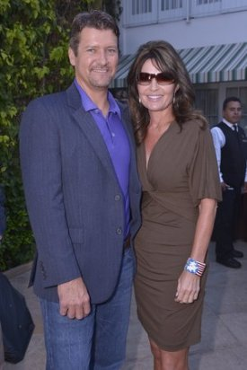 Todd and Sarah at NBC Party in LA