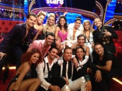 DWTS All Stars Group Photo - Bristol in Chess Queen Outfit
