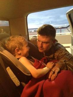 Track telling Tripp goodbye before second deployment to Afghanistan