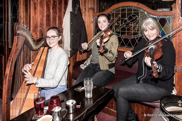 The Henegham Family, Westport, Irland, Foto/Copyright: Rolf G. Wackenberg