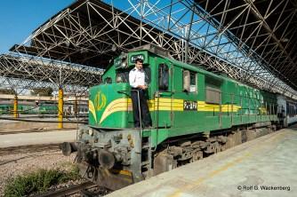 Tehran Railway Station, Foto: Rolf G. Wackenberg