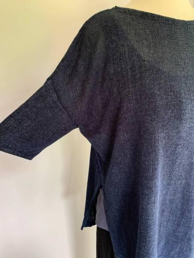 Boxy Drop Shoulder sample garment