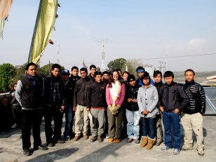 Picture of my students in Kathmandu in Nepal