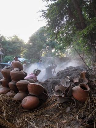Firing pots