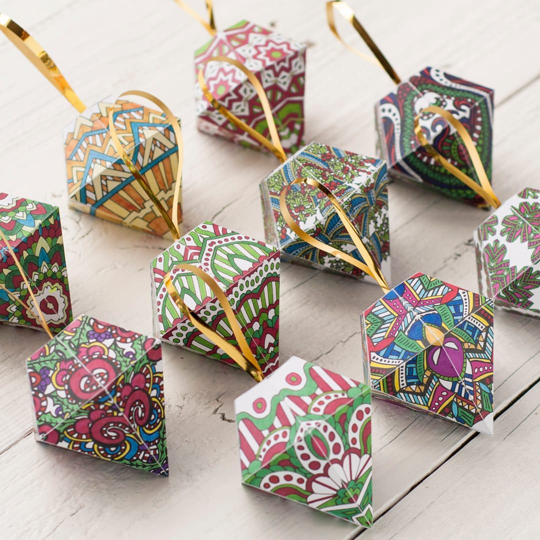Diy Christmas Ornaments 10 Pack