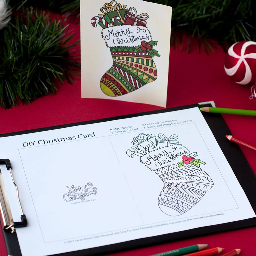 diy christmas cards 20 printable coloring templates find more christmas printable activities and coloring