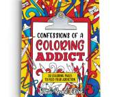 Confessions of a Coloring Addict - Printable Adult Coloring Book