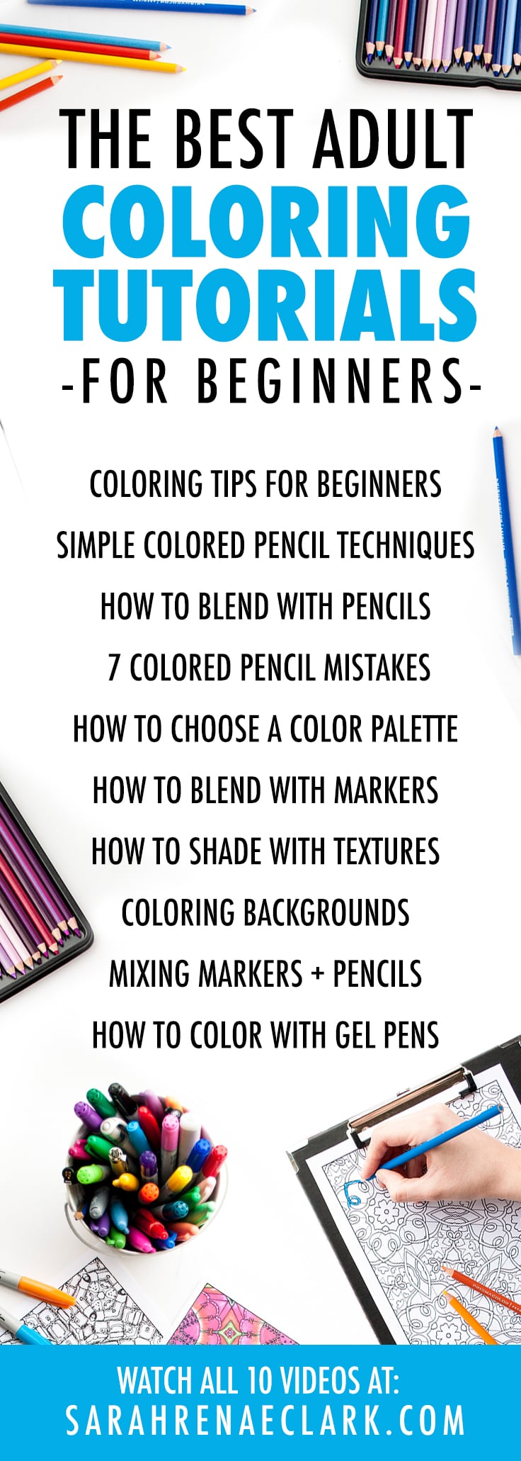 the 10 best adult coloring tutorials for beginners - sarah
