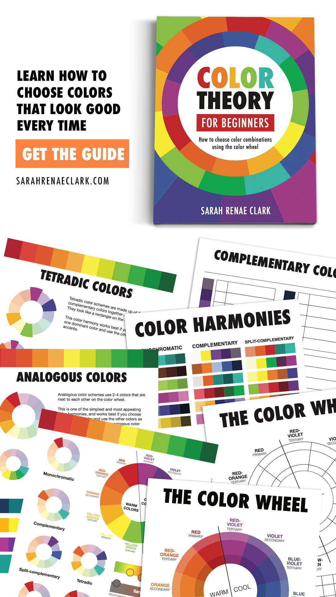Color Theory For Beginners E Book And Worksheets