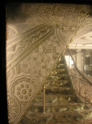 Etched Glass detail