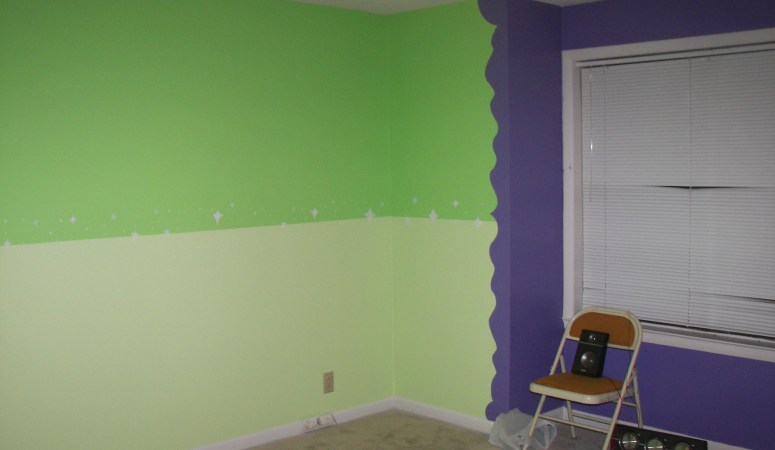Painting: The Before!