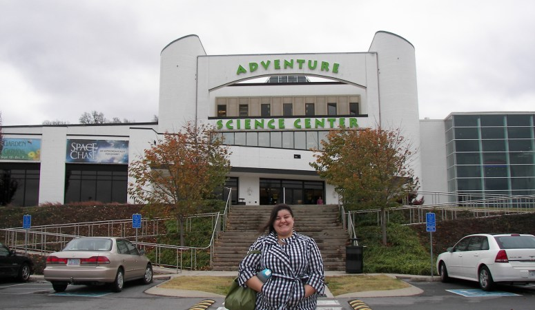 Adventure Science Center: Day Three of Staycation