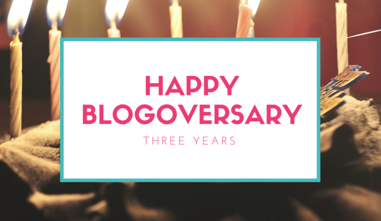 It's My Blogoversary!!