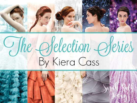 The Selection Series by Kiera Cass - I freaking LOVE this series! I am counting down the days until the next book comes out! EEK!!!!