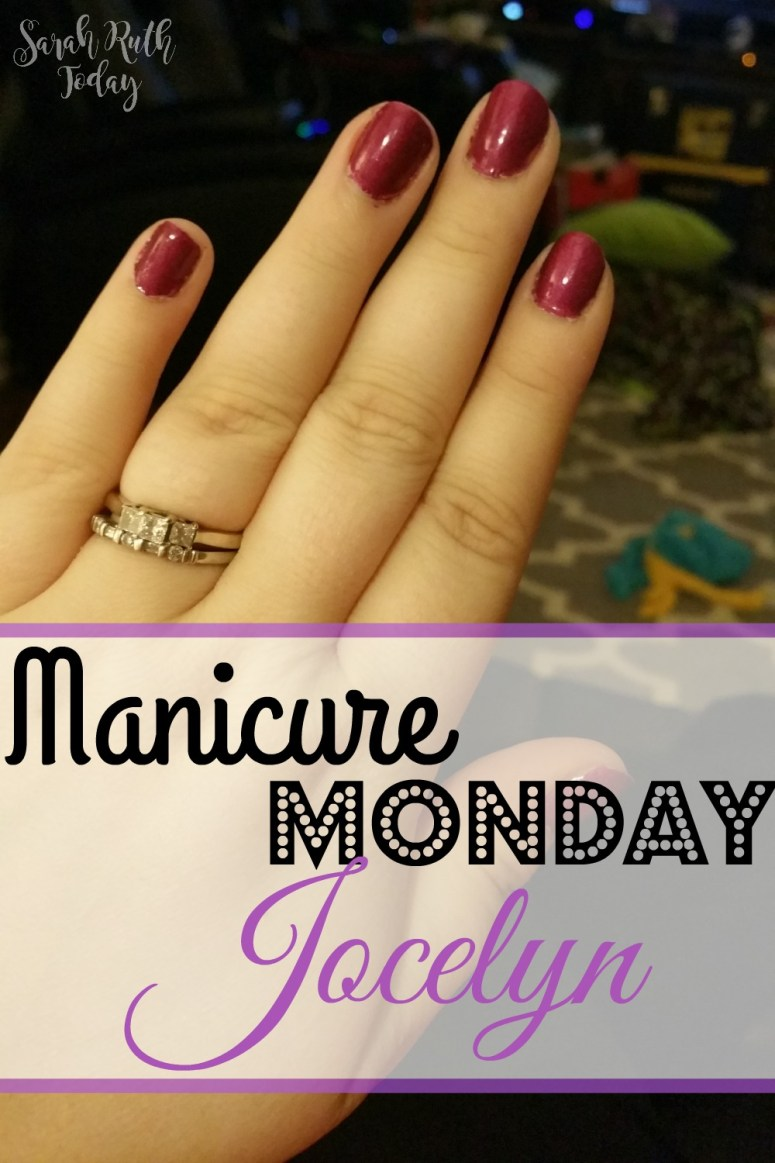 Manicure Monday: Jocelyn (Julep) I love this purple color. Sparkly and sophisticated. Can't wait to get it!