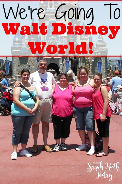 We're Going to Walt Disney World