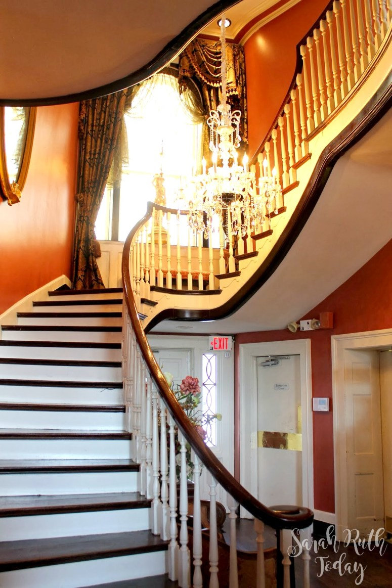 Monell's manor staircase
