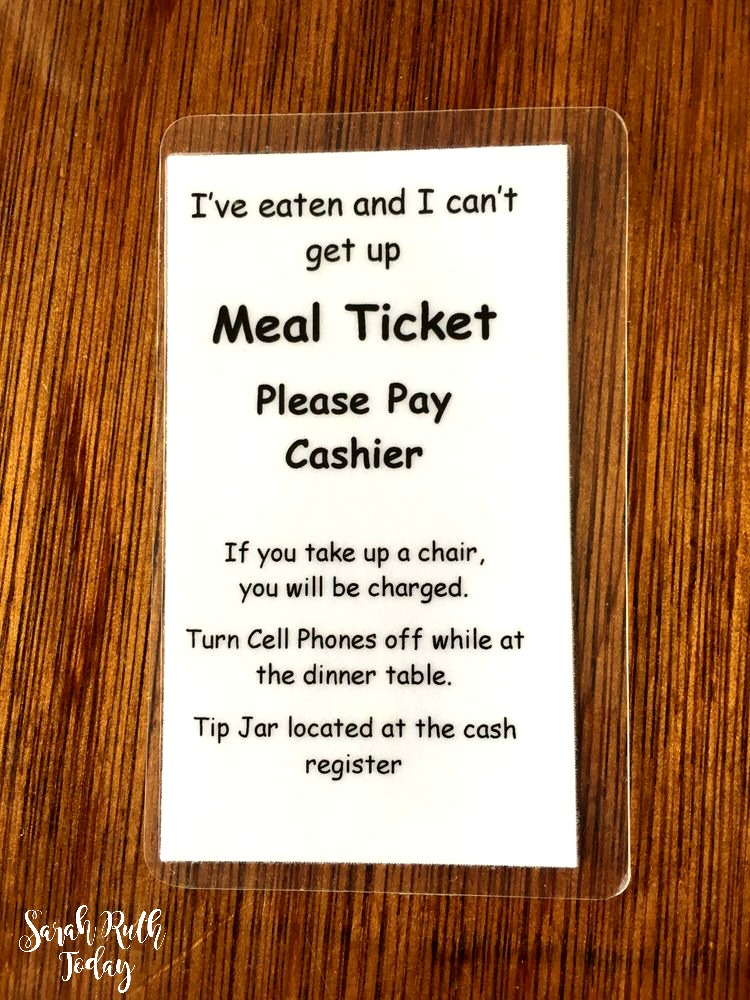Monell's meal ticket
