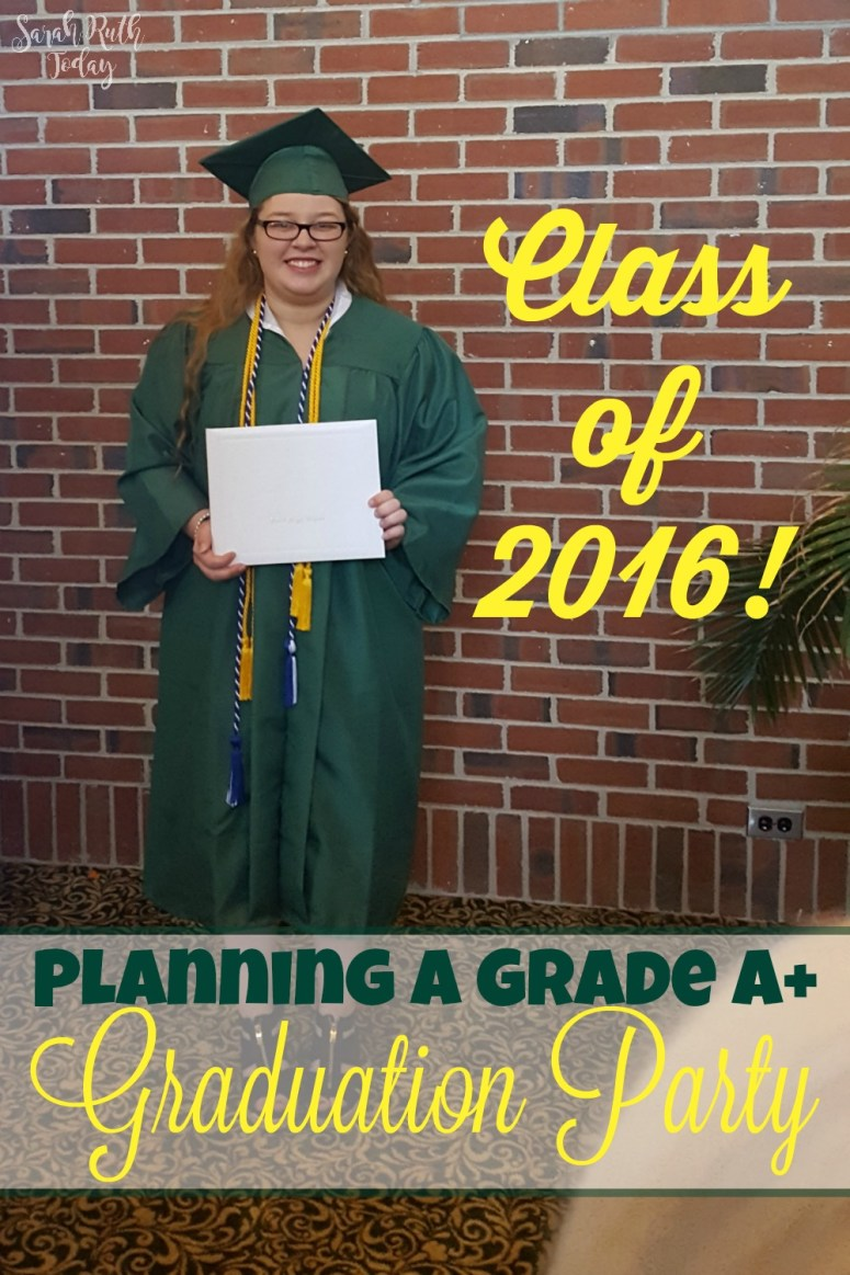 Planning A Grade A+ Graduation Party - Great ideas for a fun grad party. Love the Games!