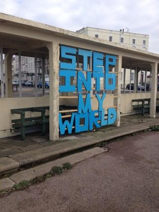 Margate, England, tourist, travel, derelict, art, street art