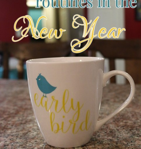 Getting back into routines in the New Year – Young Wife's Guide