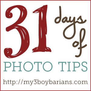 Welcome to 31 Days of Photo Tips | Day 1
