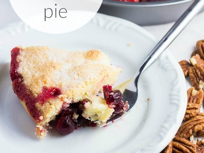 Nantucket Cranberry Pie And Christmas Guests