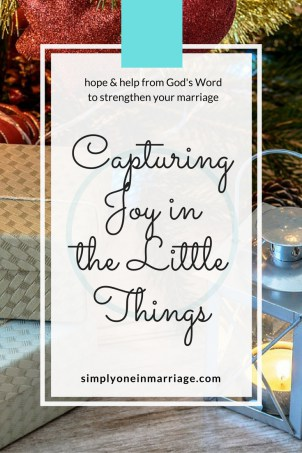 Capturing Joy in the Little Things