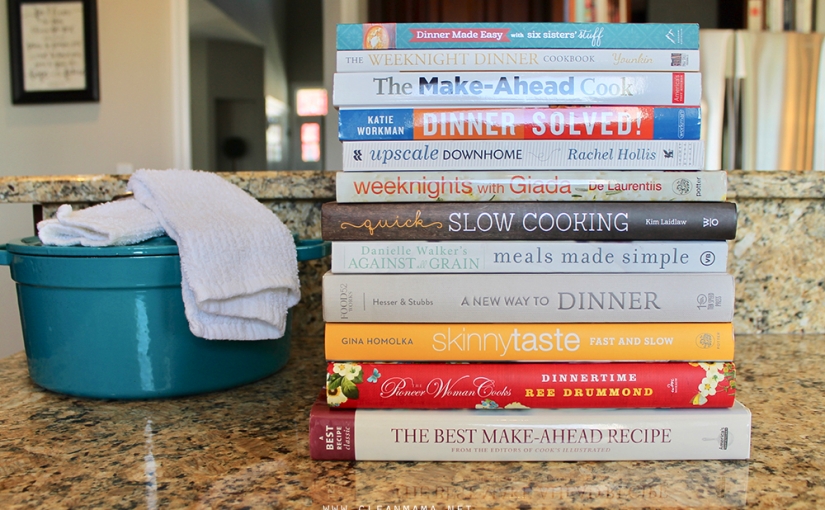 What's On My Book Stack : 12 Time-Saving Cookbooks By Clean Mama